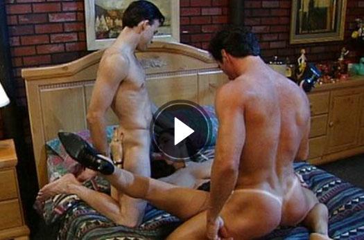zwei maenner ficken in geile vintage pornos mit einer heissen braut